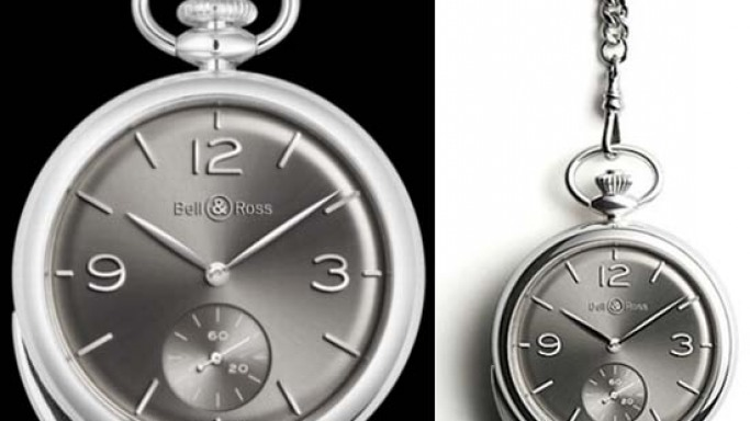 Bell & Ross PW1 Répétition Minutes pocket watch for modern day/new generation collectors