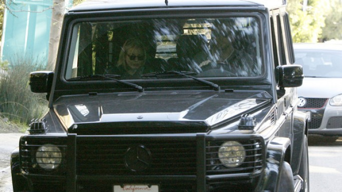Bradley drives Mercedes-Benz G500
