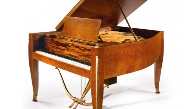 Rare Ruhlman piano that sailed aboard the legendary 1930s ocean liner SS Normandie goes for sale