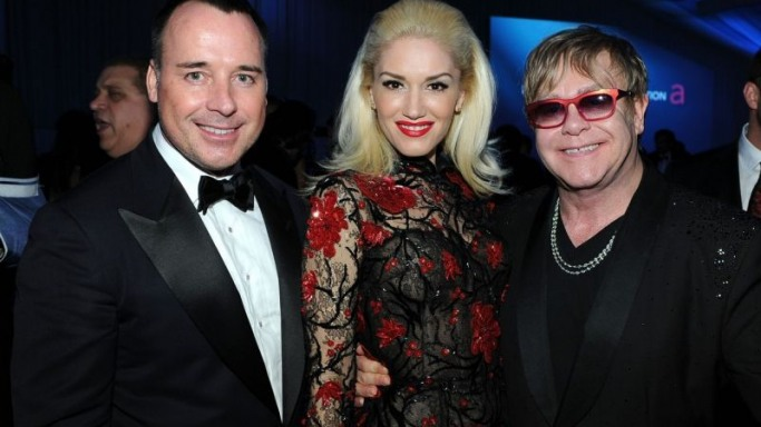 Gwen Stefani supports Elton John AIDS Foundation