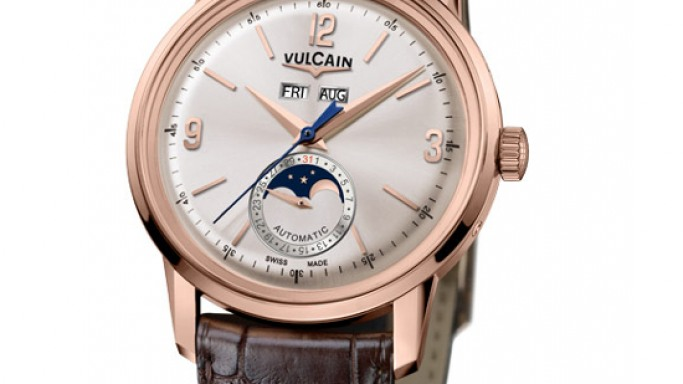 Vulcain's all-new 50s Presidents' Moonphase watch debut for classic watch lovers