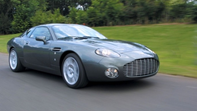Aston Martin DB7 car - Color: Gray  // Description: gorgeous