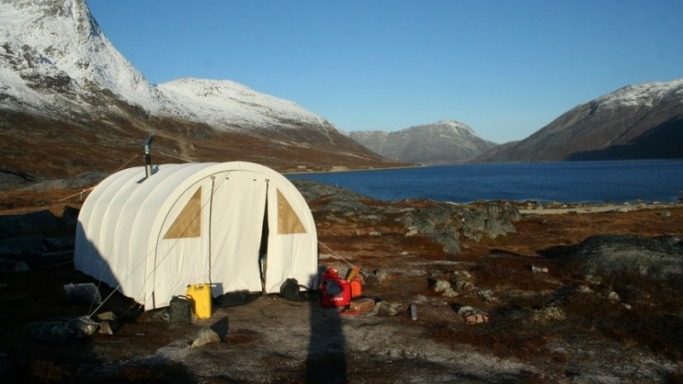 Lodge at West Greenland