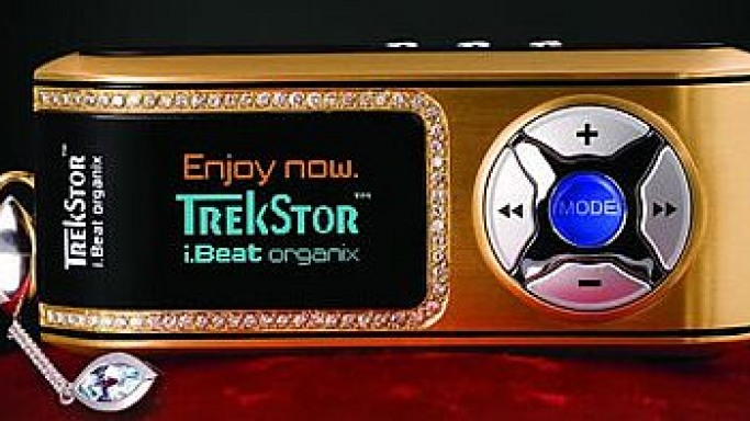TrekStor i.Beat Gold MP3 Player Goes On Sale at Amazon