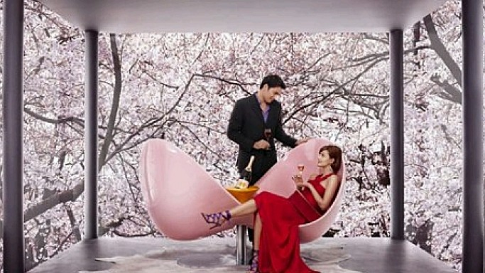 Karim Rashid's Clicquot Loveseat For Classy Lovers