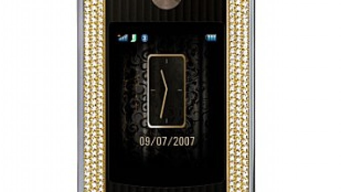 Amosu Presents RAZR2 V8 Luxury Diamond Edition phone for Last Moment Shoppers