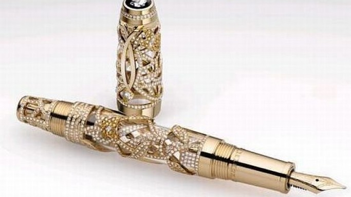 Montblanc's Limited Edition Boheme Papillon is just the gem