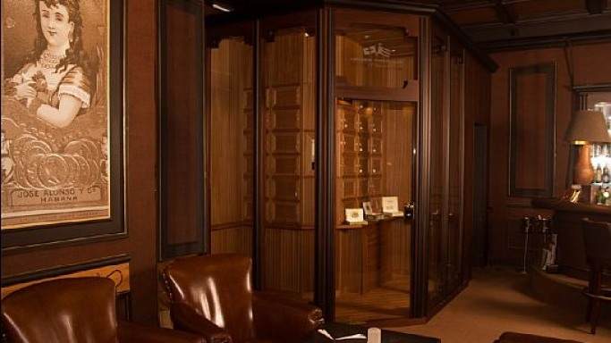 Gorgeous Walk-In Humidor for true cigar connoisseurs