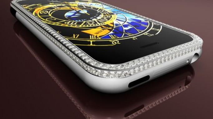 Peter Aloisson names his $176,400 iPhone the Princess Plus