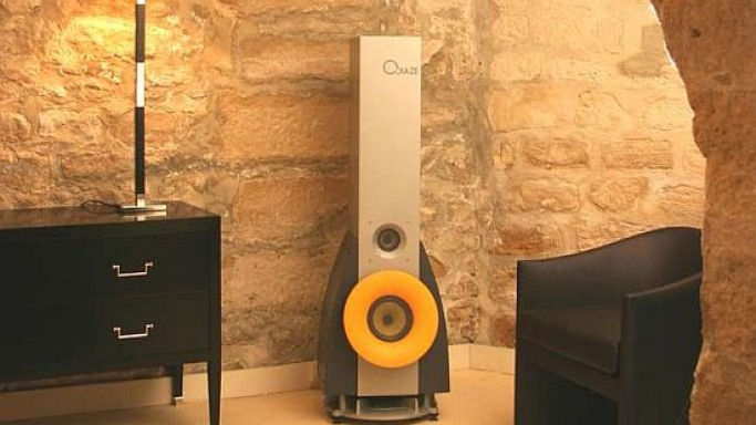 Odiaze ZQ31D luxury speakers look damn sexy and sturdy!