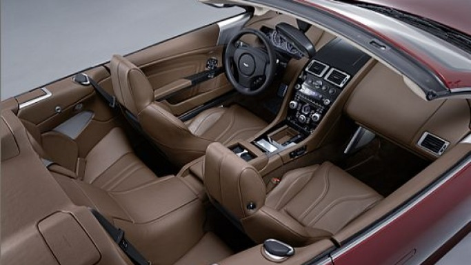 Aston Martin DBS Volante gets the bespoke B&O sound system