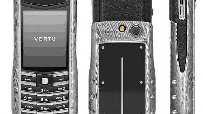 Vertu adds Damascus Steel to its Ascent Ti collection