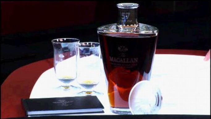 Macallan launches 57-year-old whiskey for the rich in taste