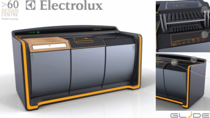 Electrolux's futuristic kitchen workstation for the silver generation