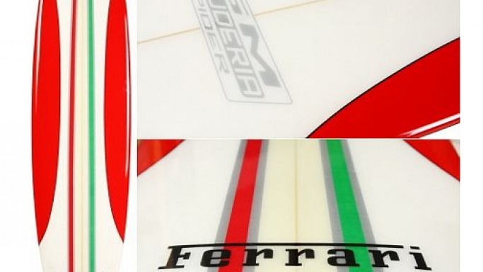 Ferrari surfboard takes your flair off the road and into the water
