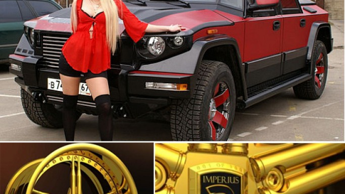 Dartz to seduce Russian czars with all new Prombron with golden wheels