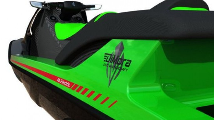 DiMora goes green with the all-electric Stealth Jet Ski