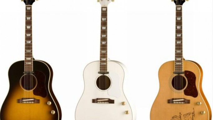 Limited edition 70th Anniversary John Lennon J-160E acoustic guitars