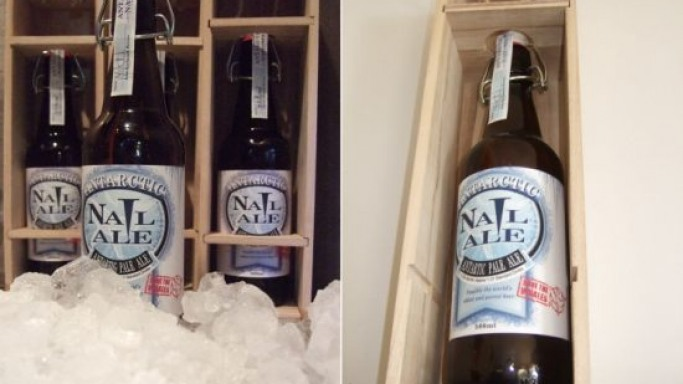 Antarctic Nail Ale is the world's most expensive beer