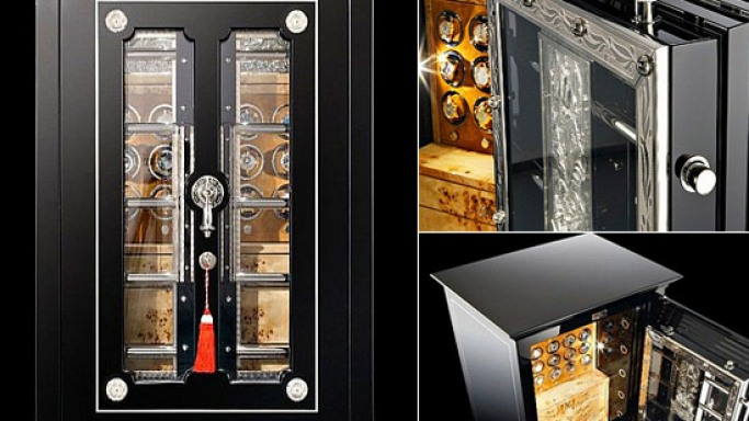 "Döttling puts ""The Skeleton"" back to life for its $341,326 antique luxury safe project"