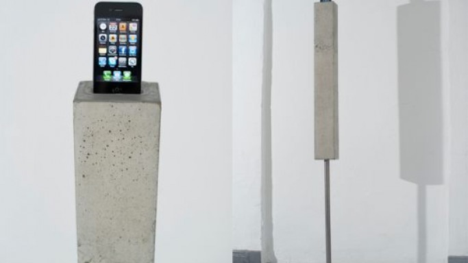 Heavy Tool iPod/iPhone Tower is one big beauty to look at!