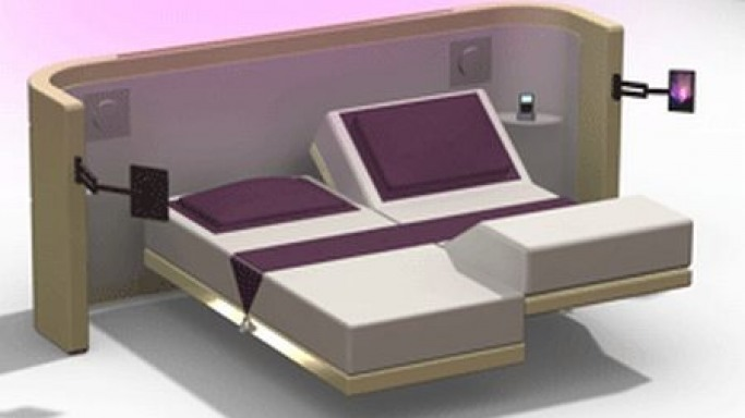 After the iCon Bed, Hollandia comes up with the iLight Bed