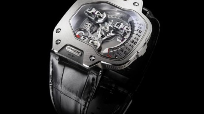 Distinctively complex Urwerk UR-110 Torpedo watch