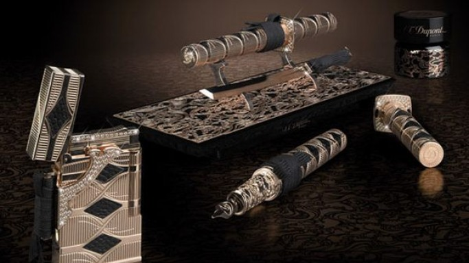 S.T. Dupont's $66,000 Samurai Prestige Lighter and Pen set