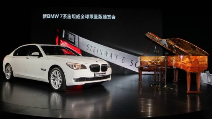 BMW brings 7-Series Steinway & Sons Piano Limited Edition to China