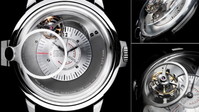 Gagarin Tourbillon celebrates the 50th anniversary of Yuri Gagarin's historic space flight