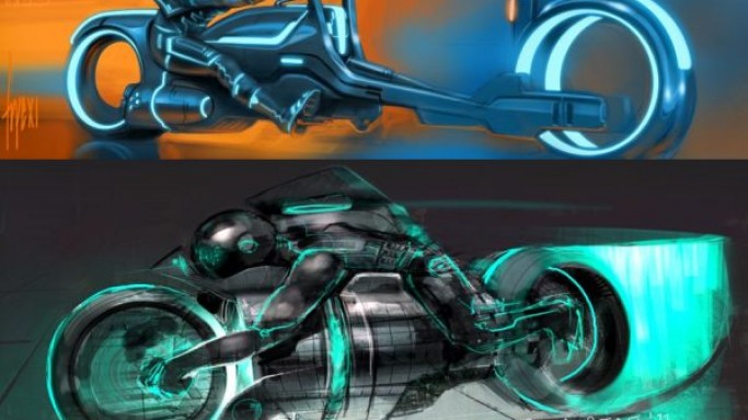Tron Light Cycle design contest sees some stunning sketches