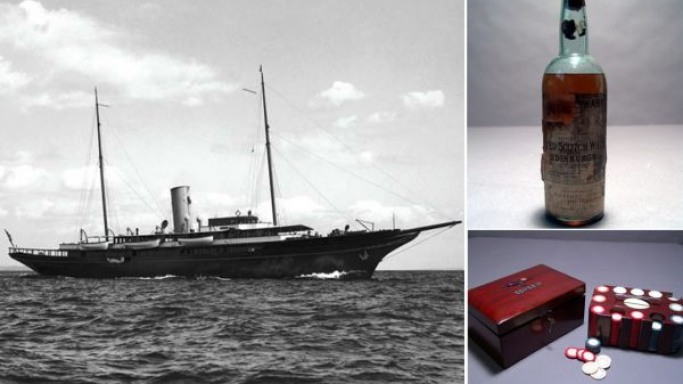 Artifacts from J.P. Morgan's Corsair megayacht up for grabs