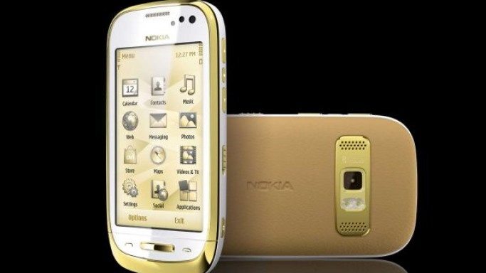 Symbian-based Nokia Oro goes for an 18-carat gold job