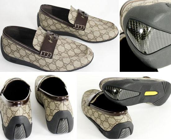 Gucci carbon fiber shoes for the classy wearer