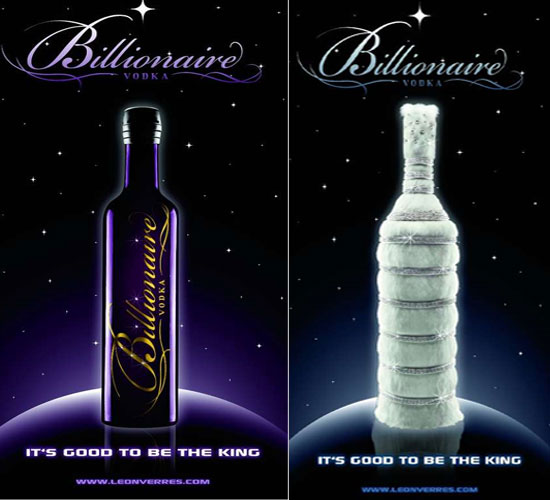 Le Billionaire: World's most exclusive, expensive Vodka costs $3.7 million