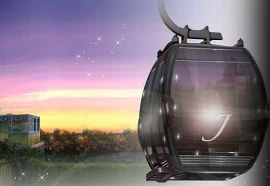 Luxurious Jewel Cable Car Cabins debut in Singapore