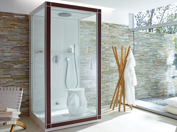 St.Trop steam shower by Philippe Starck for Duravit